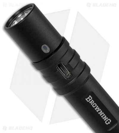 Browning MicroBlast USB Rechargeable Pen Light (160 Lumens) 3712125