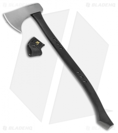 "Browning Russ Kommer Outdoorsman Camp 24"" Axe Black (Bead Blast 1055) 322231"