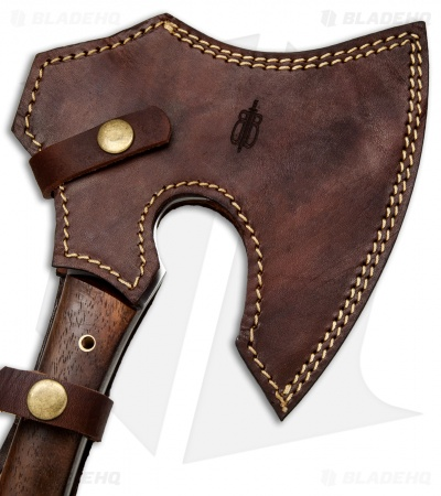 "Buck N Bear 15.5"" Tomahawk Axe Walnut (5"" Satin)"