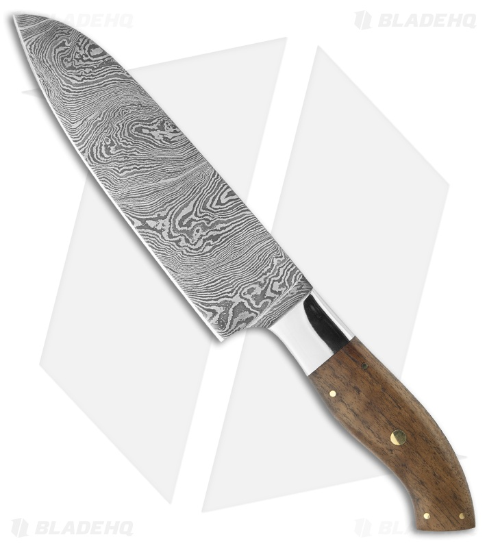 Buck N Bear 6 5 Quot Chef Knife Santoku W Walnut Handle