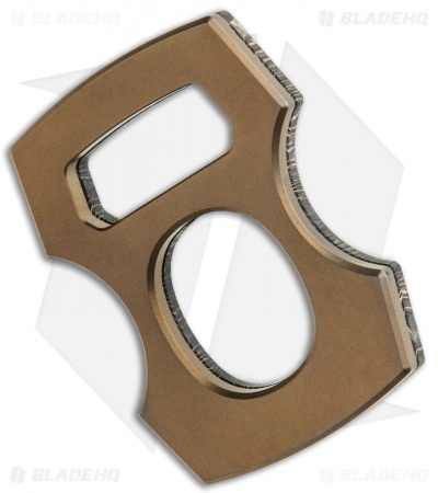 BRNLY Contra Cypop Bottle Opener Gold Cmascus/ Bronze Titanium