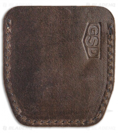 GSD BRNLY Cypop Cozie - Horween Leather w/ Vintage Green Canvas