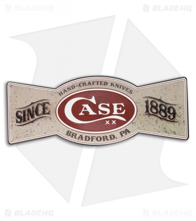 Case Bowtie Tin Advertising Sign 50125