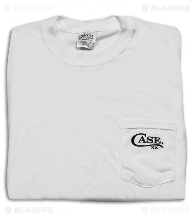 Case Cutlery Pocket White Tee Short Sleeve T-Shirt