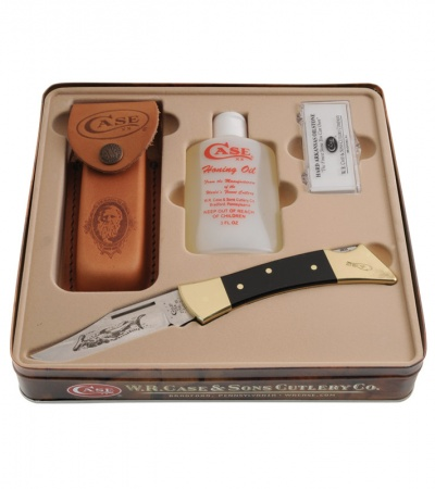 Case Large Hammerhead Lockback Knife Gift Set (2159L SS) 182