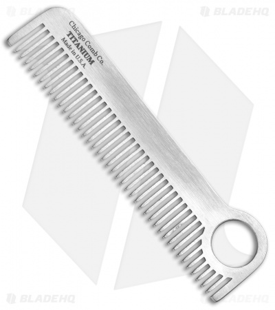 Chicago Comb Co. Model 1 Titanium Comb - Classic