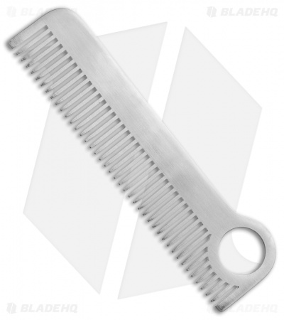 Chicago Comb Co. Model 1 Stainless Steel Comb - Matte