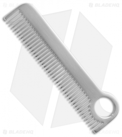 Chicago Comb Co. Model 1 Stainless Steel Comb - Mirror