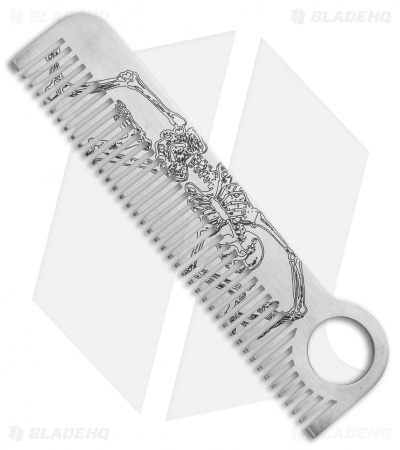 Chicago Comb Co. Model 1 Stainless Steel Comb - Skeleton