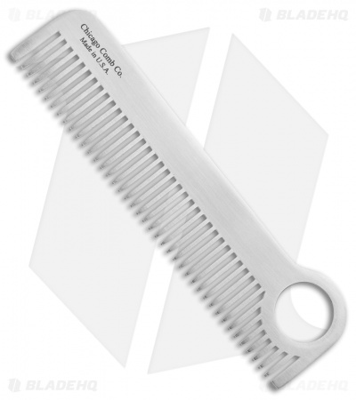 Chicago Comb Co. Model 1 Stainless Steel Comb - Classic