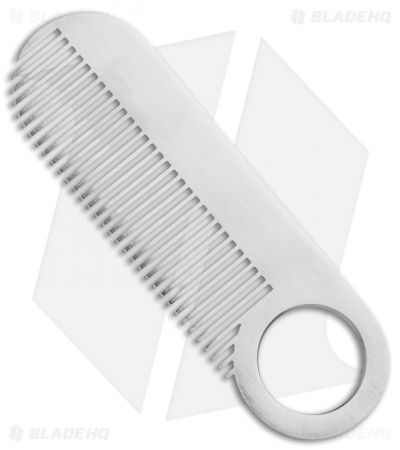 Chicago Comb Co. Model 2 Stainless Steel Comb - Matte