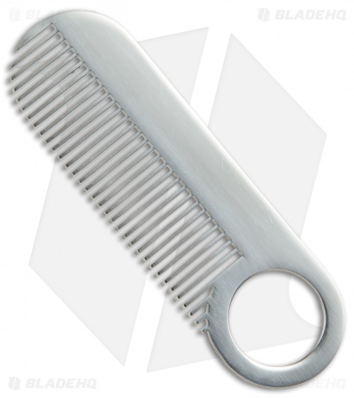 Chicago Comb Co. Model 2 Stainless Steel Comb - Mirror