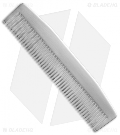 Chicago Comb Co. Model 3 Stainless Steel Comb - Matte