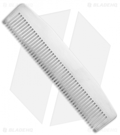 Chicago Comb Co. Model 3 Stainless Steel Comb - Mirror