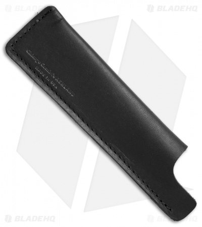 Chicago Comb Co. Regular Horween Leather Comb Sheath - Dublin Black