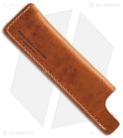 Chicago Comb Co. Regular Horween Leather Comb Sheath - English Tan