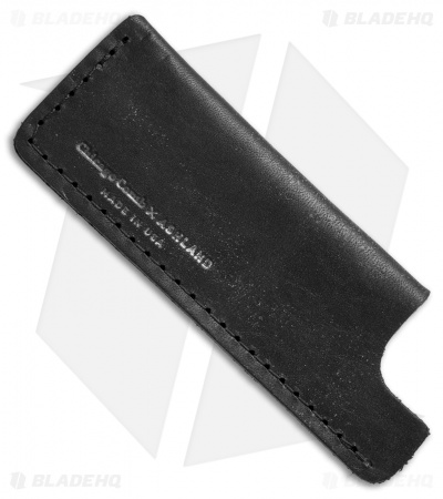 Chicago Comb Co. Small Horween Leather Comb Sheath - Dublin Black