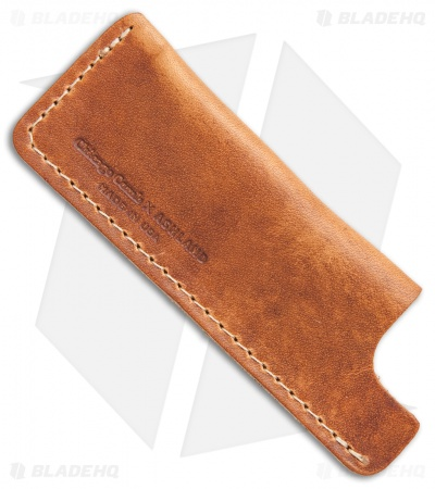 Chicago Comb Co. Small Horween Leather Comb Sheath - English Tan