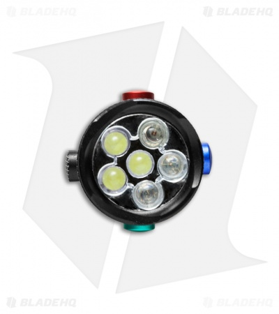 Coast TX10 4-Color LED Flashlight (73 Lumens)