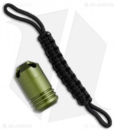 Dango Aluminum Capsule Waterproof Storage - OD Green