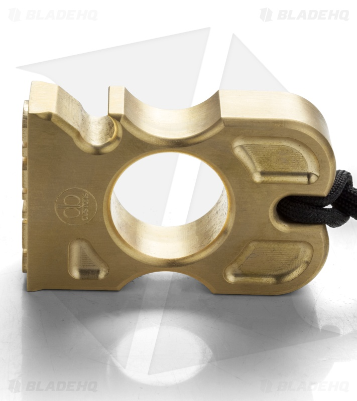 DB Customs Stupid Stamp Knuck Bottle Opener EDC Keychain Brass