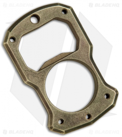 Desert Blade Works CapDuster Brass Knuck Bottle Opener (Distressed)