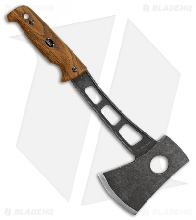 "EKA Hatchblade W1 12.6"" Axe Wood Pattern G-10 (Sandvik 12C27) 814402"