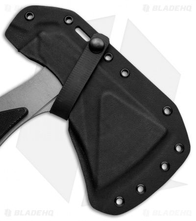 "EOS Shorty 11"" Camping Hatchet Axe Black G-10"