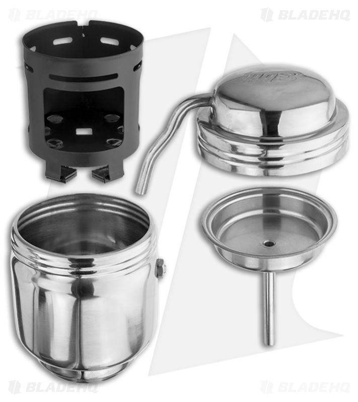 Coffee Maker Stainless Steel : Esbit Coffee Maker Stainless Steel 200mL 20102400 - Blade HQ