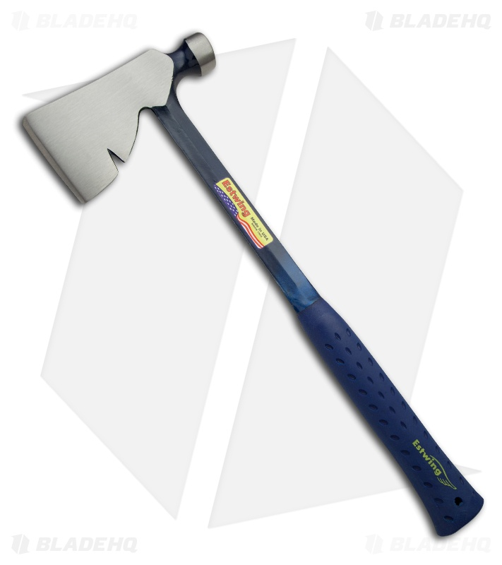Estwing Rigger's Axe Long Handle w/ Shock Reduction Grip E3-R