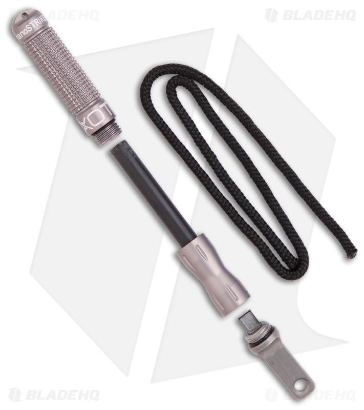 Exotac nanoSTRIKER XL Firestarter 001140GUN Replaceable Ferrocerium rod works we