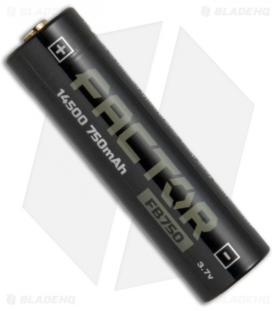 Factor Equipment Rechargeable 14500 Li-ion Battery 3.7V - 750 mAh