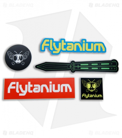 Flytanium Sticker Pack - Set of 5