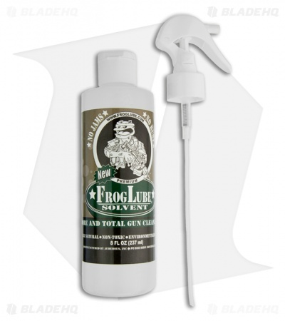 FrogLube Solvent 8 oz. Spray Bottle
