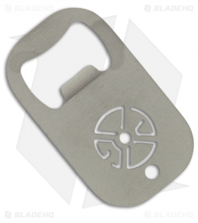 Gray Precision Titanium BET Beverage Entry Tool (Bead Blast)