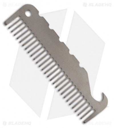 John Gray Small Titanium Comb & Bottle Opener