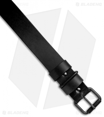"Greg Stevens Design Standard Leather Belt - 1.5"" Width / Black"