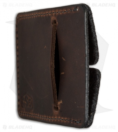 Greg Stevens Design Wooly Slim(mer) V2 Wallet Coffee Dublin Leather