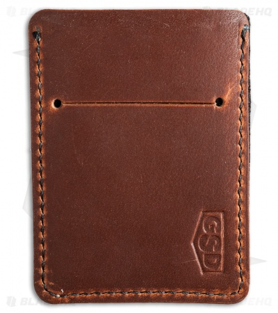 Greg Stevens Design Wooly Slim(mer) V2 Wallet English Tan Dublin Leather
