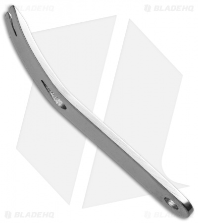 "Grindworx Extract-Bar Polished Stainless Steel Curved Pry Bar (3"")"