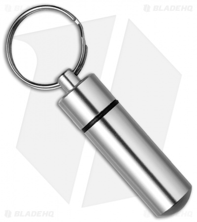 Grindworx Machined Aluminum Waterproof Storage Capsule w/ Key Ring