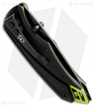 "Guardian K3 Knife Assisted Opening (3"" Black Plain)"