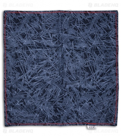 "Hanks by Hank 10"" x 10"" Handkerchief - Blue Grass"