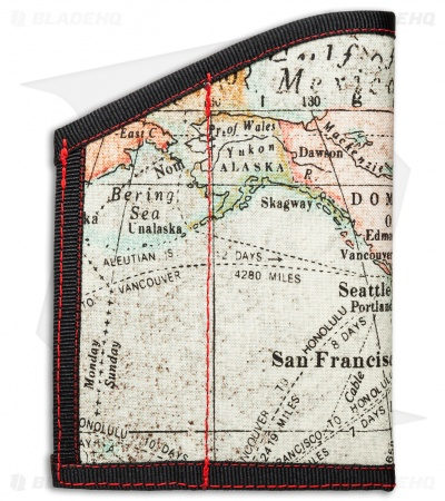 Hanks by Hank Large Caddy Pocket Organizer (Map)