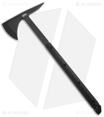 Hardcore Hardware BFT01-G Tactical Tomahawk Axe w/ Black G10 Handle