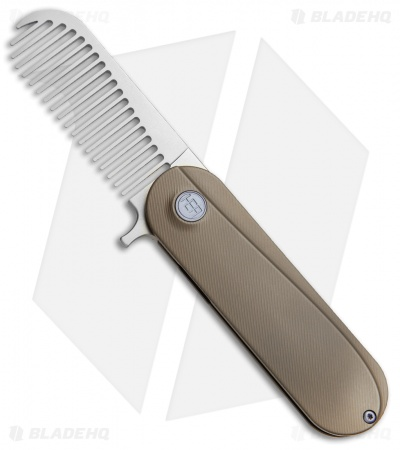 HEAdesigns Sabertooth Folding Comb Bronze Titanium (Bead Blast S35VN)