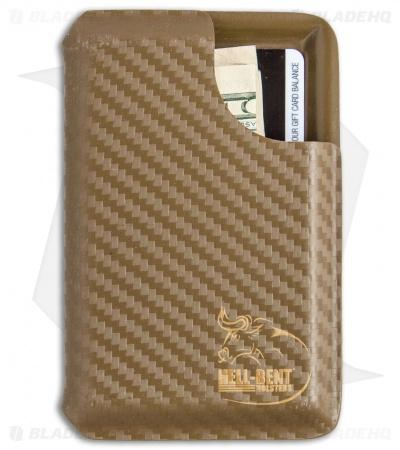 Hell-Bent Holsters Carbon Fiber Wallet (Coyote Tan)
