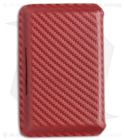 Hell-Bent Holsters Carbon Fiber Wallet (Red)