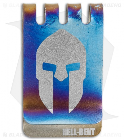 Hell-Bent Holsters Spartan Titanium Money Clip (Anodized)