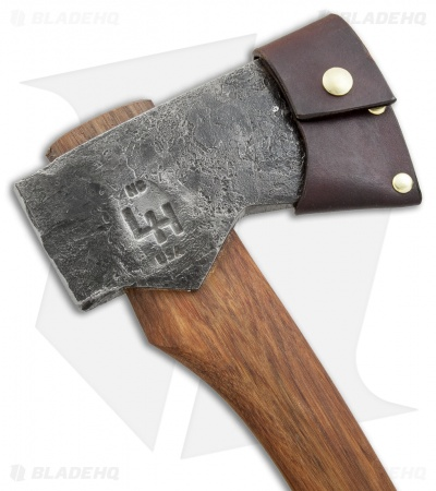 "Hoffman Blacksmithing 32"" American Felling Axe w/ Dark Stain Ash Handle"